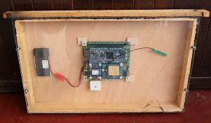 Frame with Trackbees device